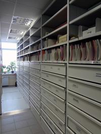 архивные передвижные стеллажи для офиса
