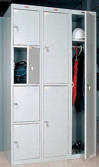 Шкафы индивидуального пользования Промет