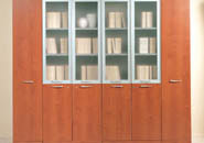 мебель для руководителя Камбио - серия BOSS шкаф CHERRY