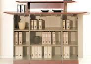 мебель для руководителя Камбио - серия BOSS шкаф PALISSANDR