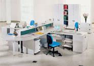 мебель для персонала серия NET - All – Grey