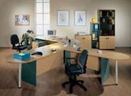 мебель для персонала серия NET - Beech – Green