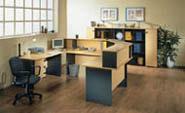 мебель для персонала серия NET - Beech – Graphite