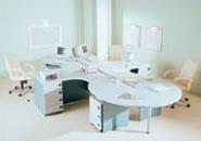 мебель для персонала серия NET - Grey – Green