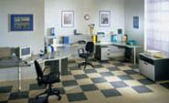 офисная мебель для персонала серия NET - Grey – Graphite